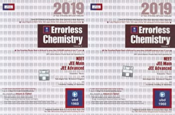 Errorless Chemistry for Neet, Jee Main, Jee Advanced (Set of 2 Volume) 2019 Edition by Universal Book Depot 1960 UBD1960