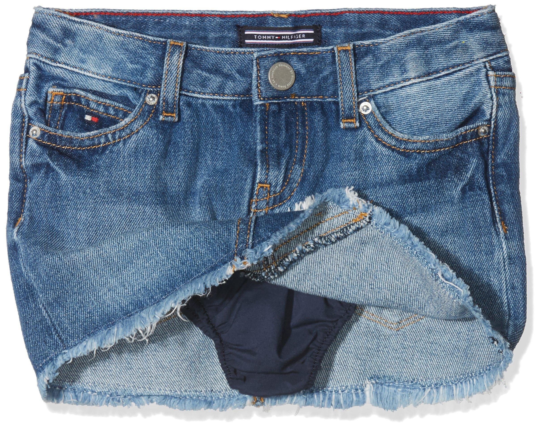 c291e9baa Tommy Hilfiger Basic Denim Skirt Gbri, Falda para Niñas