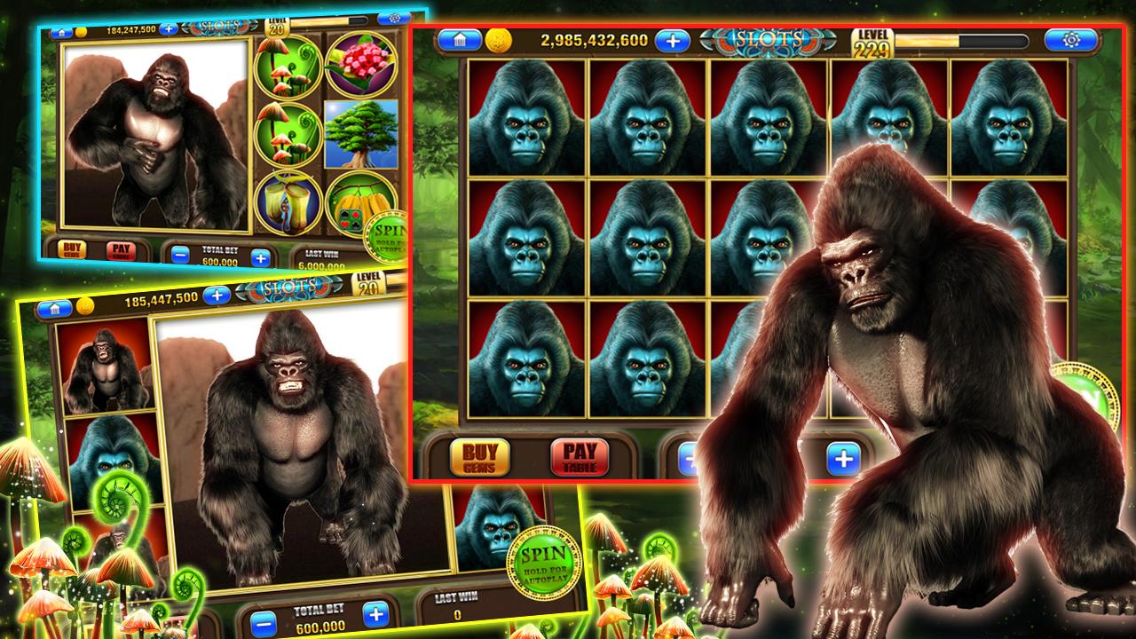 Free Gorilla Slot Games