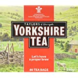 Taylor's of Harrogate Yorkshire, Black Tea 80 bags - 1 unit