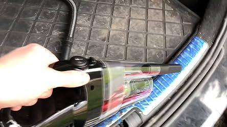 Corux Auto Staubsauger 150 Watt 12v Handstaubsauger Autostaubsauger 3 5 Kpa Mit 4m Kfz Adapterkabel Und Tasche Schwarz