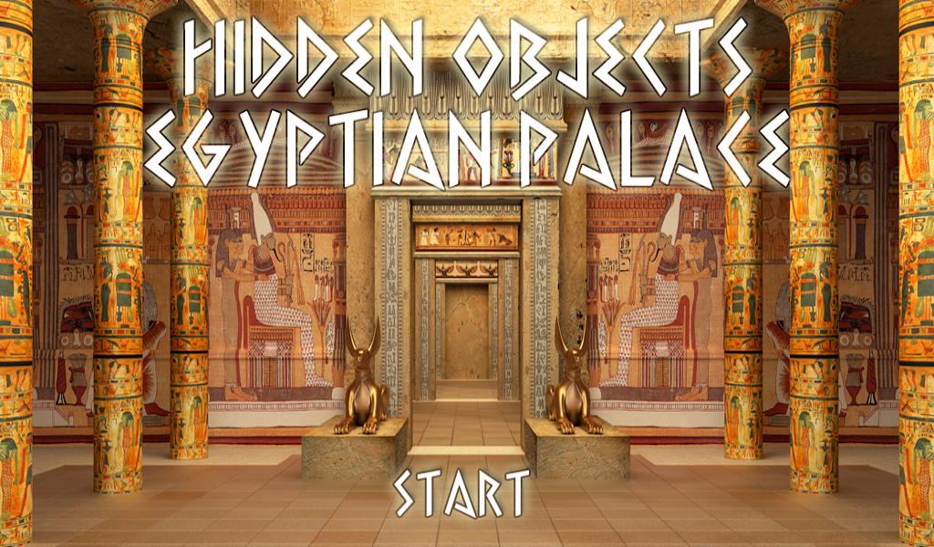 hidden objects egyptian palace  ad free   amazon co uk