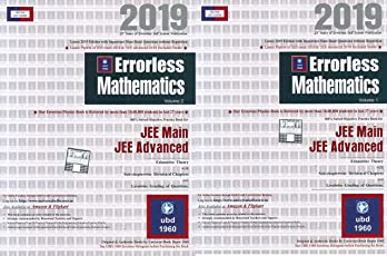 Errorless Mathematics for Jee Main, Jee Advanced (Set of 2 Volume) 2019 Edition by Universal Book