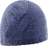 Salomon Damen Diamond Beanie, Blau (Medieval Blue), One Size