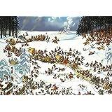 Unbekannt Puzzle Loup, Napoleon's Winter - 4000 Teile, gelegte Größe: 96 x 136 cm