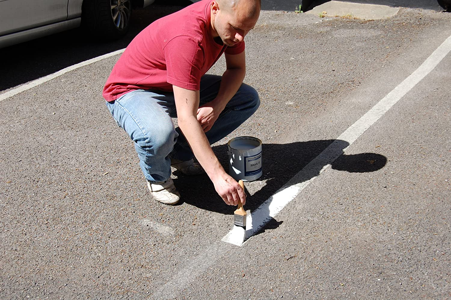 Mark It Line Marking Paint Car Park Line Marking White Or Yellow