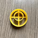 Round Donut - Off Centre - polymer clay cutter