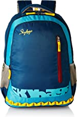 Skybags Blue Laptop Backpack (LPBPVI1EBLU)