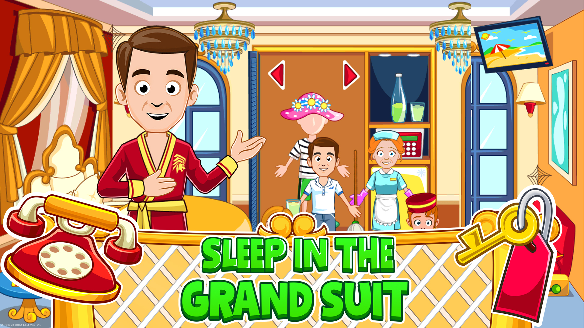 My Town Hotel Amazon De Apps Fur Android