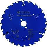 Bosch Professional Cirkelsågblad Expert for Construct Wood (trä, 165 x 20 mm, 24 tänder, tillbehör cirkelsåg)