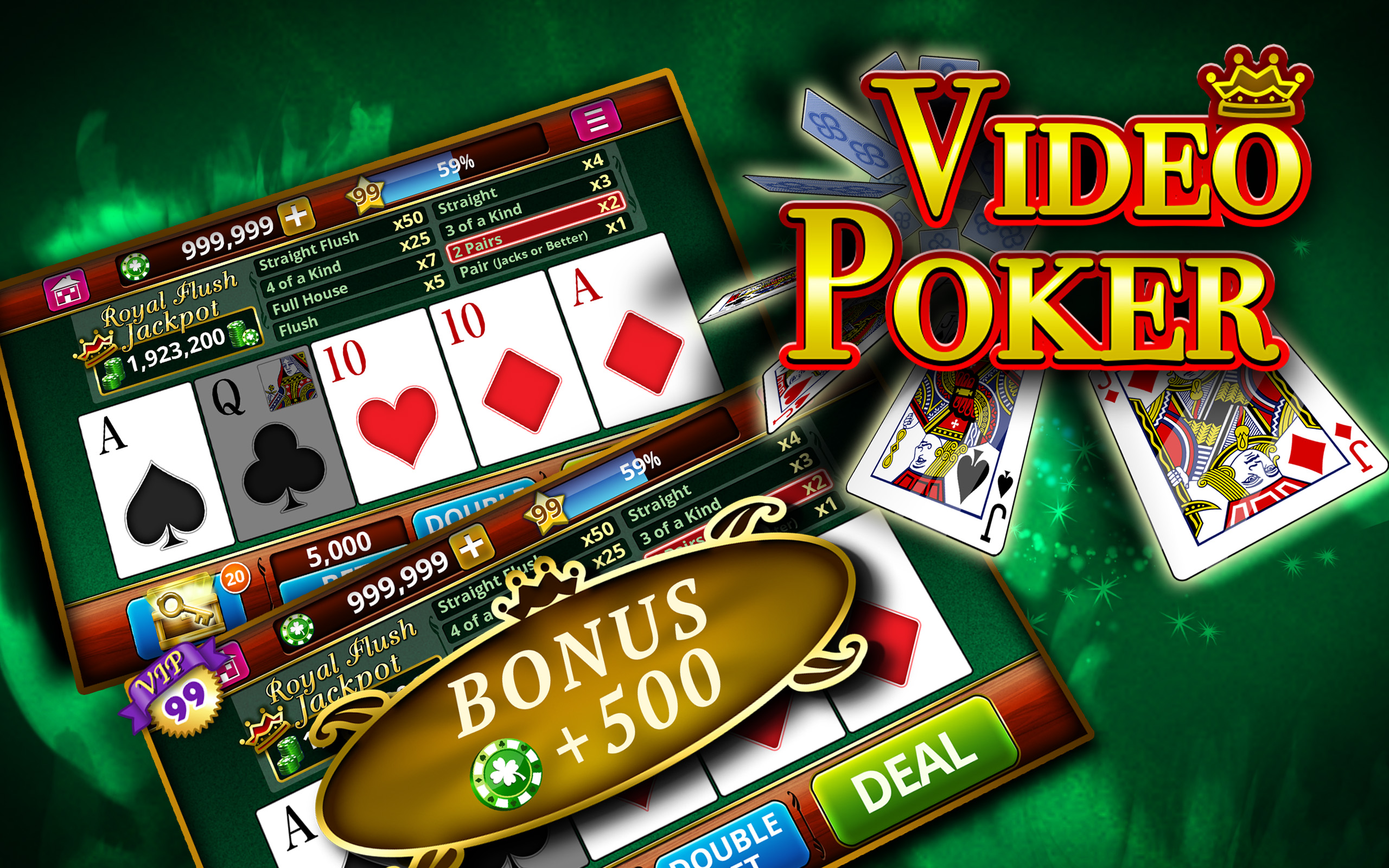 Jeu Video Poker
