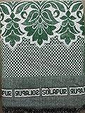Gouri textiles Solapur Cotton Blanket (58 x 88 Inch, Multiple Colours)