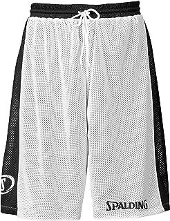 dd26f73419dc Spalding Essential Short rversible de basketball homme Violet FR   XXL  (Taille Fabricant   XXL