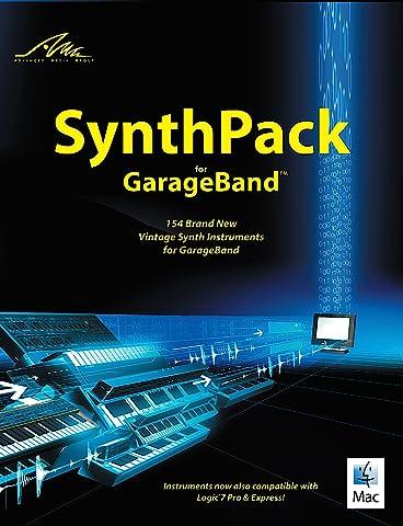 SynthPack for GarageBand - nouveaux instruments de synthèse vintage pour GarageBand & Logic [Téléchargement]