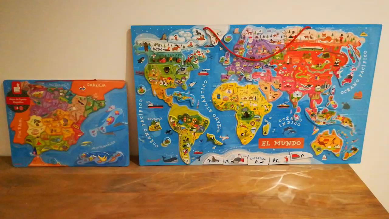 Amazon.es:Opiniones de clientes: Janod- Puzzle magnético de España ...