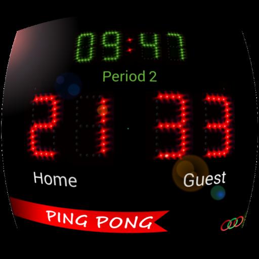 Scoreboard PingPong ++ (Tennis Table Board Score)