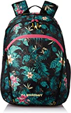 Wildcraft Polyester 38 Ltrs Green School Backpack (WC 2 Flora 1)