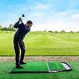 Net World Sports FORB Pro Driving Range Golf Übungsmatte (200cm x 122cm) (Standmatte + Abschlagmatte) – die perfeke Kombination um Ihr Spiel zu perfektionieren