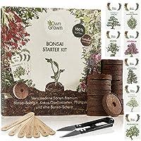 Bonsai Starter Kit: Premium Bonsai Starter Set mit 7 Sorten Bonsai Samen, Bonsai Schere, 20 Quelltabletten und…