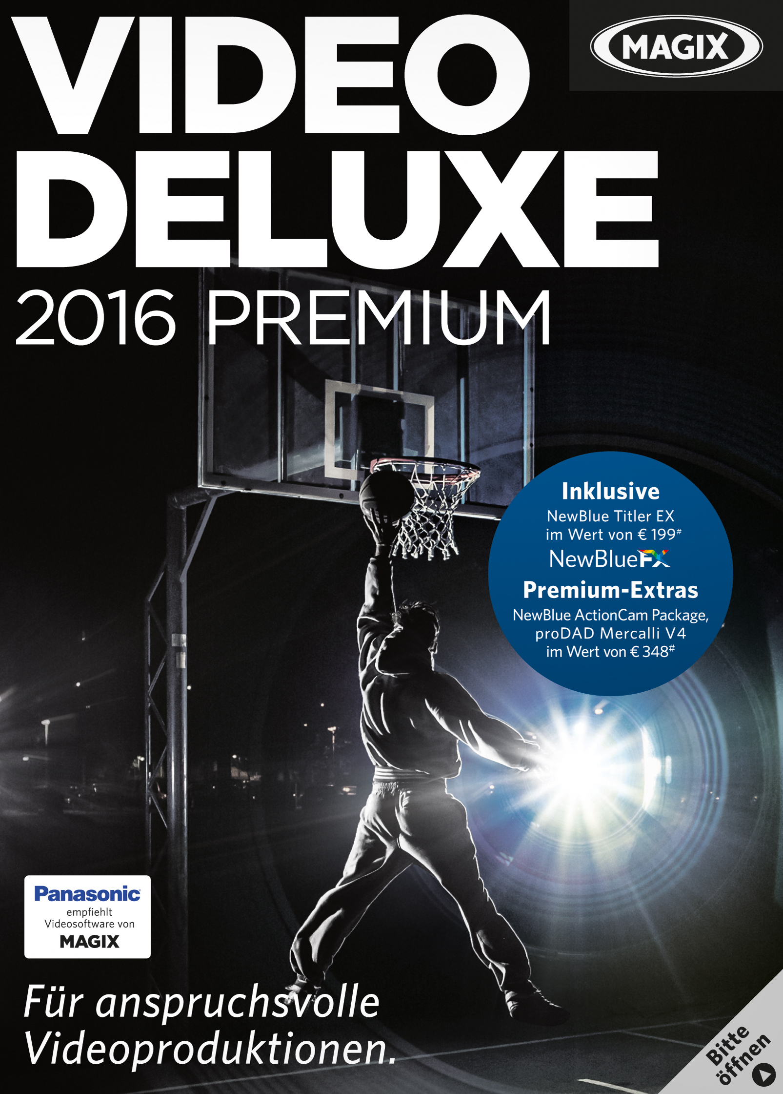 MAGIX Video deluxe 2016 Premium [Download] (Microsoft Video-editing)