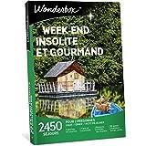 Wonderbox – Coffret Cadeau - WEEK END INSOLITE ET GOURMAND – Séjours en tipis, cabanes, yourtes, roulottes, maisons d'hôtes d