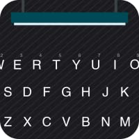 Black Twill Theme for Kika Keyboard
