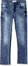 Poppers By Pantaloons Girls' Tapered Regular Fit Jeans
