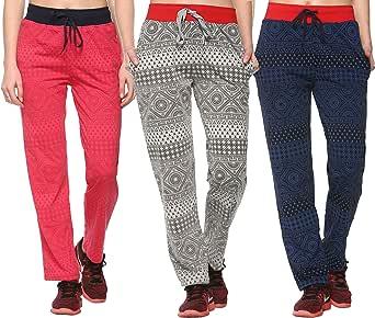 SHAUN Girls Cotton Solid Pajama Bottom (Pack of 3)