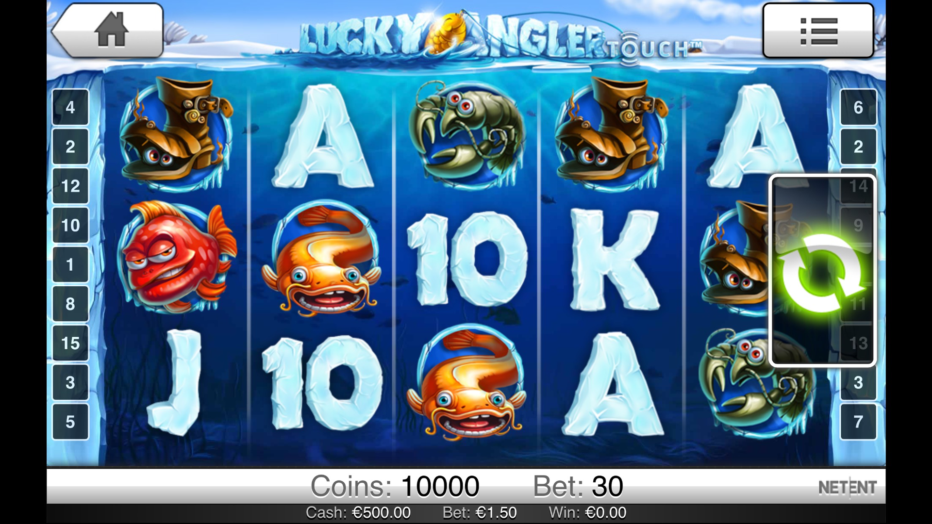 casino slot online english angler online