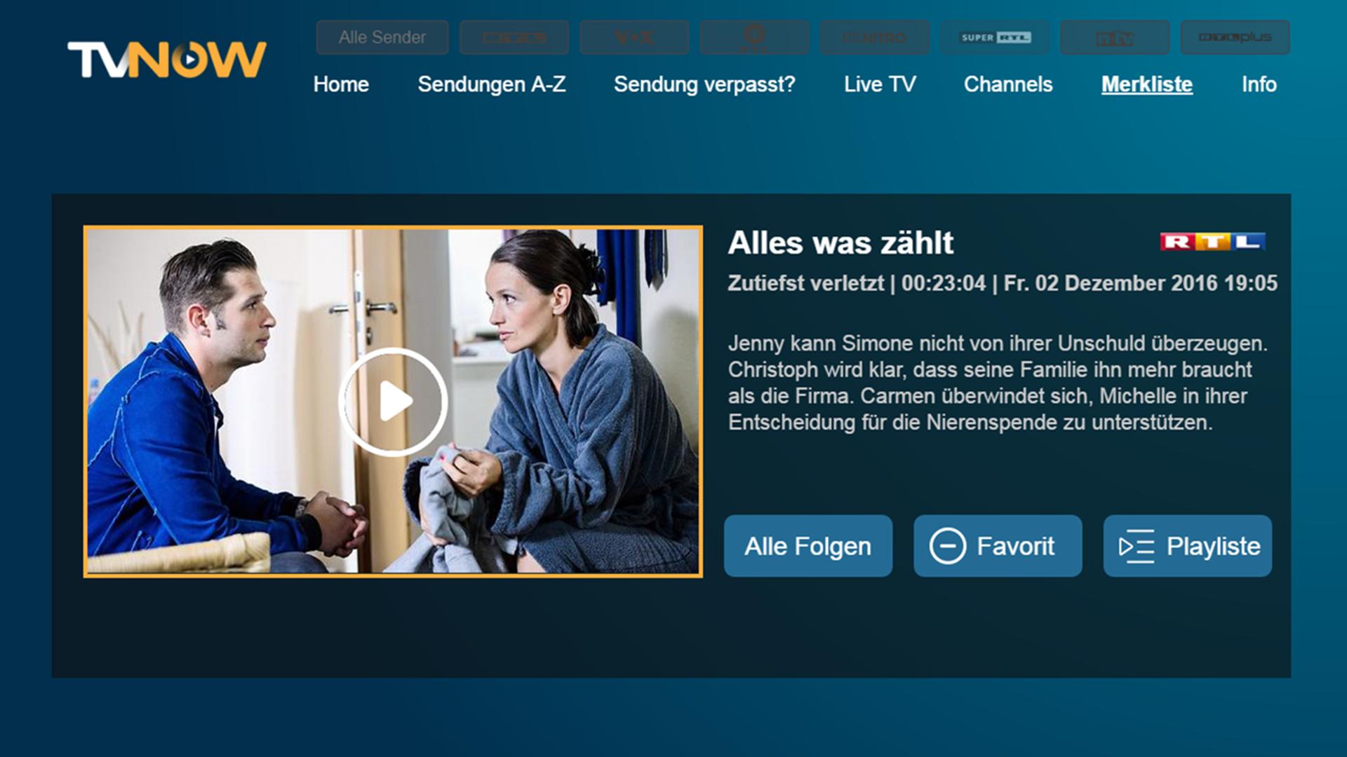 Tv now rtl mediathek ab sofort f r fire tv verf gbar for Rtl spiegel tv mediathek