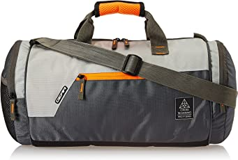 (CERTIFIED REFURBISHED) Gear Polyester 38 cms Grey Travel Duffle (DUFCRSTNG0406)