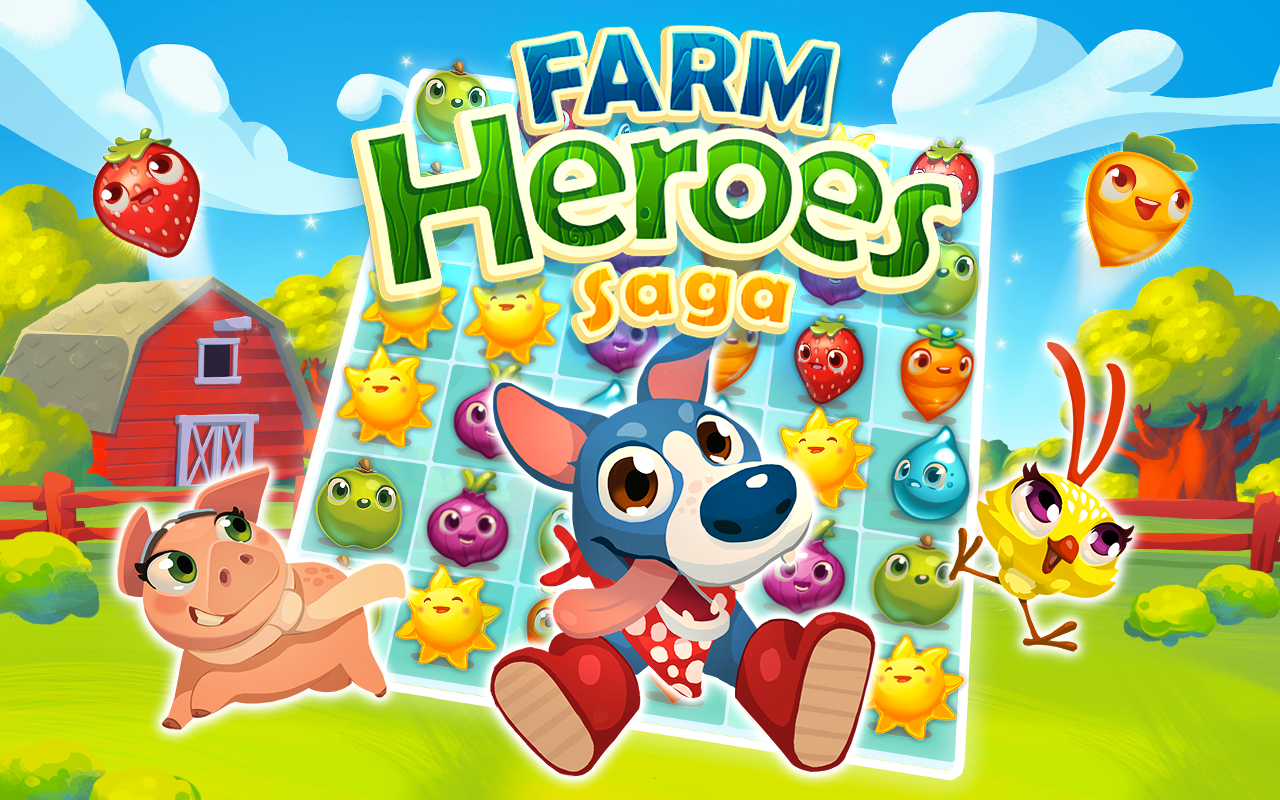 Farm Heroes Saga: Amazon in: Appstore for Android