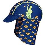 Playshoes UV-Schutz Mütze Krokodil Sombrero para Niños