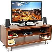 BLUEWUD Leo Engineered Wood TV Unit/Entertainment Center Table (Wenge)