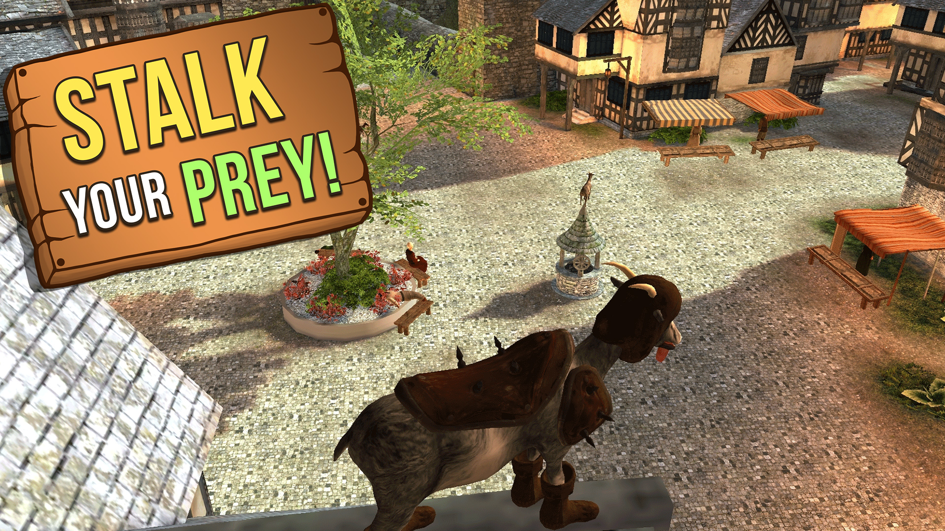 Image of: Shadows Goat Simulator Mmo Simulator Amazoncouk Appstore For Android