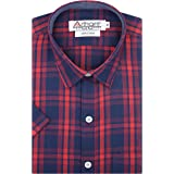 Arihant GHPC Checkered 100% Cotton Half Sleeves Regular Fit Formal Shirt for Men