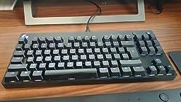 Logitech G910 Orion Spectrum, Teclado Gaming Mecánico, Retroiluminación RGB LIGHTSYNC, Teclas Táctiles Romer-G, 9 Teclas G Programables, Tecnología de ...