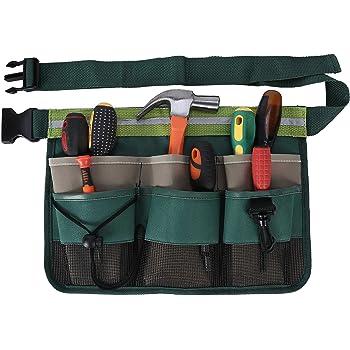 Esschert Design Garden Tool Belt - Green: Amazon.co.uk ...