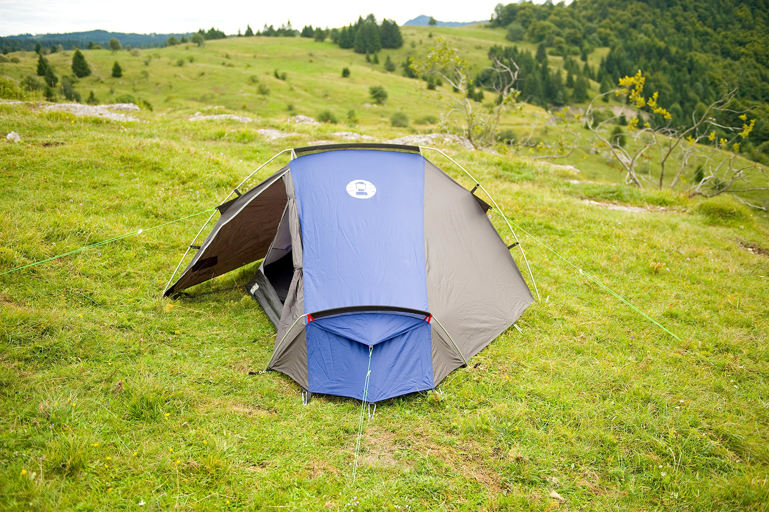 Coleman Cobra 2 Tent for Trekking Tours, Camping or Festivals, Small Pack Size, Fits in a Backpack, Waterproof HH 3.000… 7