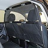 """Bushwhacker - Deluxe Dog Barrier 56"""" Wide - Ideal for Trucks, Large SUVs, Full Sized Sedans - Pet Restraint Car Backseat Divi"""