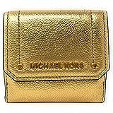 Michael Kors Hayes Münzetui aus Leder, mittelgroß, dreifach faltbar, goldfarben
