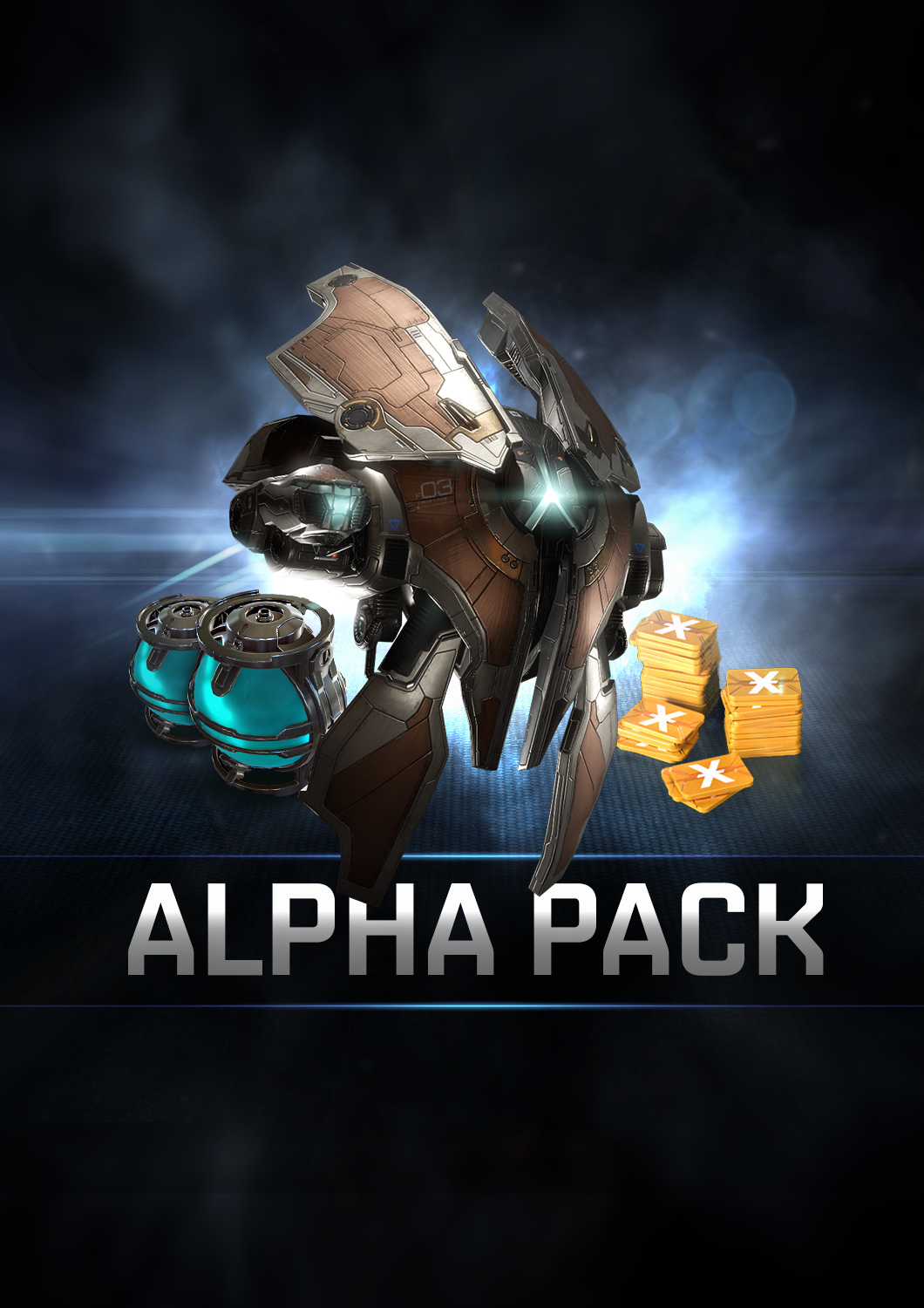 EVE Online: Pack Alpha [Code Jeu PC/Mac - Sans DRM]
