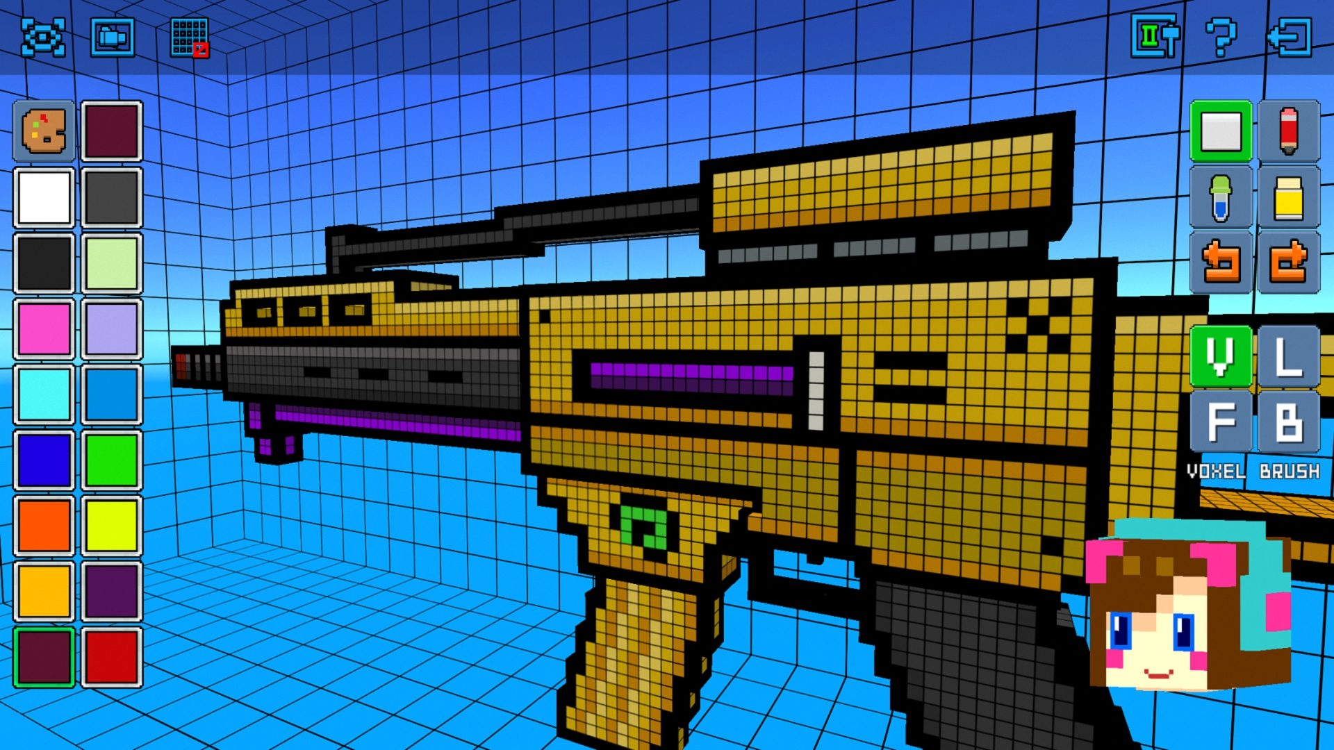 Cops N Robbers Fps Mine Mini Pixel Style Gun Shooter
