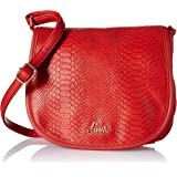 Broxa Front Textured Flap Sling Bag