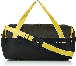 Aristocrat Polyester 52 cms Black Travel Duffle (DFSWI52BLK)