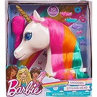JP Barbie 62861 Barbie Dreamtopia Tête à coiffer Licorne Multicolore