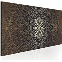 murando Tableau Acoustique Mandala 100x50 cm Impression sur Toile Image 5 Pieces Tableaux murals Absorption Acoustique…
