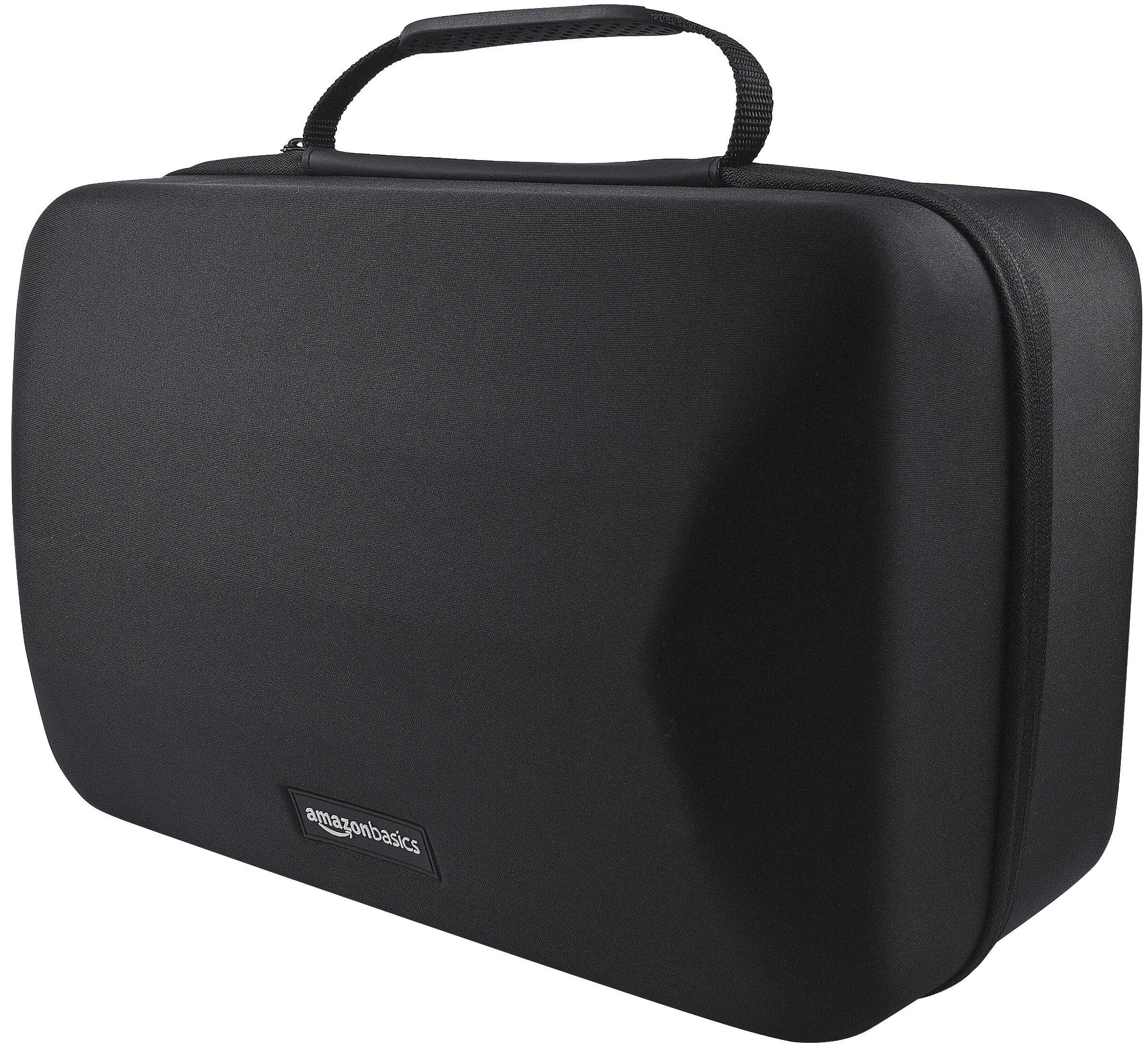 AmazonBasics Mallette de transport pour casque et accessoires PlayStation VR, Noir