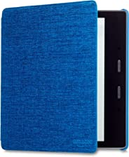 Kindle Oasis Water-Safe Fabric Cover, Blue (Compatible with 9th and 10th Generations)