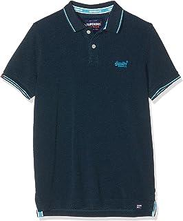 Superdry Herren Poolside Pique SS Polo Poloshirt: